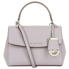 MICHAEL Michael Kors Extra Small Ava Cross Body Satchel ($220) ❤ liked on Polyvore featuring bags, handbags, man bag, crossbody handbags, crossbody purse, purse satchel and michael michael kors handbags