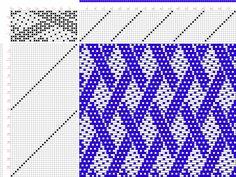draft image: 15061, 2500 Armature - Intreccio Per Tessuti Di Lana, Cotone, Rayon, Seta - Eugenio Poma, 15S, 32T