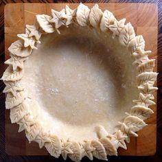 Pie is in the air... Pate Brisee. Pie Dough...Crust. I love Ina Garten's recipe. She uses a little…