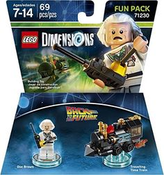 Back to the Future Doc Brown Fun Pack - LEGO Dimensions LEGO