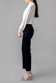 beautiful ivory blouse 1
