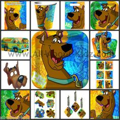 SCOOBY DOO Mod Mystery Birthday PARTY SUPPLIES