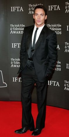 Jonathan Rhys Meyers In a suit again, just kill me now,LOL