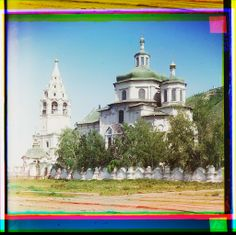 Church of the Holy Mother of God, in Tobolsk (300 years old)