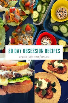 80 Day Obsession Recipes