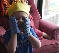 fabric king crown