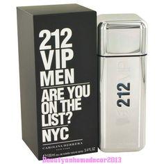 212 Vip by Carolina Herrera 3.4 oz EDT Cologne Spray for Men New in Box #CarolinaHerrera #212vipmen #212vip #212vipmenperfume #212vipmenfragrancia #212vipmenprecio #212vipmentienda #212vipmencomprar