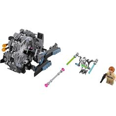 LEGO Star Wars: 75040 General Grievous' Wheel Bike - no minifigs, complete Star Wars Characters, Star Wars Episodes, Lego Space Sets, Lego Clones, Theme Star Wars, Vintage Lego, Lego Toys, Lego Disney, Lego Super Heroes