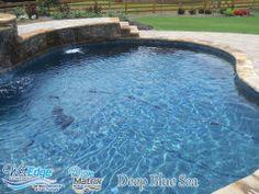 Prism Matrix Deep Blue Sea - Installed by ASI Pool Plastering