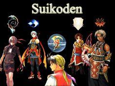 Suikoden main characters