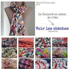 foulard cheche quelle couleur