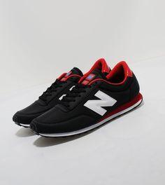 New Balance410- Black/Red/White