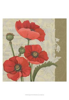 World Art group, Paris Poppy II, Chariklia Zarris