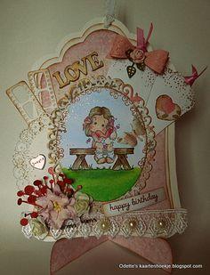 Odette's kaartenhoekje: Love ...
