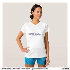 Unashamed Christian Short Sleeve Shirt
