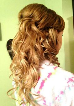 formal hairstyles for thin hair : Dance Hairstyles on Pinterest Homecoming Hairstyles, Prom Hairstyles ...