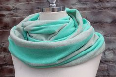 Very Cute Infinity    Scarf   for  Woman great accessory by aCutee, $14.99