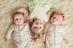 3 month twins sibling photo Morris MN Photographer Elle Ana Photography