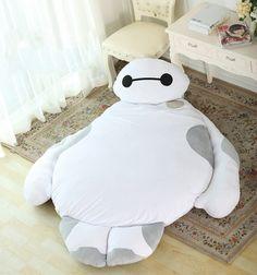 2015 New Big Hero 6 Baymax Sleeping Bed Tatami Sofa from WooGoing. Saved to Epic Wishlist. Giant Stuffed Animals, Big Hero 6 Baymax, Bean Bag Sofa, Bed Mats, Cute Pillows, House Beds, Dream Rooms, Sofa Bed, Decoration