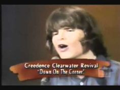 Down on the Corner - Creedence Clearwater Revival (HQ - Studio ) Creedence Clearwater Revival my favorite band . Best Old Songs, Greatest Songs, Music Clips, Music Bands, Sound Of Music, Good Music, Music Down, John Fogerty, Creedence Clearwater Revival
