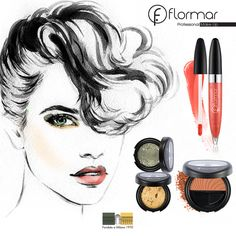 Refleja tu estado de ánimo con nuestra sugerencia de #maquillaje #Flormar