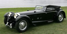 1931 Daimler Double 6 50 Sport Corsica Drophead (Convertible) Coupe built by Martin Walter Coachworks Retro Cars, Vintage Cars, Classy Cars, Cabriolet, Unique Cars, Amazing Cars, Awesome, Hot Cars, Jaguar