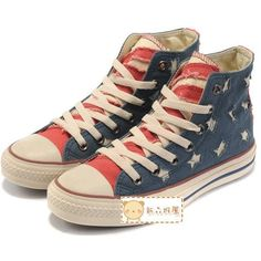 Unisex The Flag of Shoes Lace UP Casual Sneakers Students Canvas Shoes... ❤ liked on Polyvore