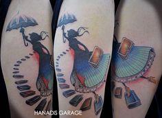 Lovely tat by Hanadis. Mary Poppins