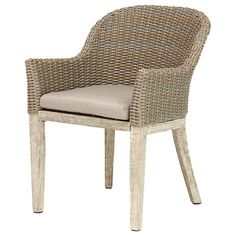 Buy KETTLER Cora Round Back Dining Chair, FSC-Certified (Acacia), Set of 2, Whitewash Online at johnlewis.com