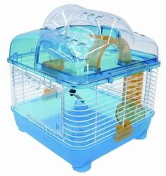 That is a brand spanking new: YML Transparent Plastic Dwarf Hamster Mice Cage with Ball