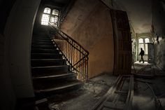 Going up? Stairs are a great and often photographed architectural element. You can show a portion of them, include a human element, or even make them look spooky. Here are 19 photos of stairs to give you some inspiration.
