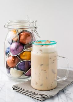 My sister came to visit a few weeks ago and we were working on an e-book project together. (Hint – it has to do with my favorite holiday.) We worked really, really hard in a very short amount of time. We needed a pick me up, so she made us iced cappuccinos. She makes the best iced coffee beverage in [...]