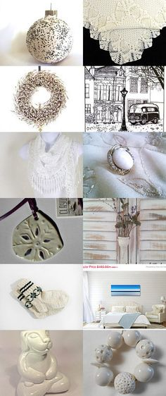 Winter Wonderland by Kathy Lindemer on Etsy--Pinned with TreasuryPin.com