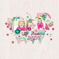 Sweet Shoppe Designs - Making Your Memories Sweeter Merry And Bright, Scrapbook Pages, Digital Scrapbooking, Memories, Make It Yourself, My Favorite Things, Frame, Sweet, Layouts
