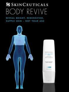 Specifically designed for the skin quality and concerns of forgotten body areas frequently exposed to the sun, SkinCeuticals Neck, Chest & Hand Repair delivers dual brightening and restoration action. #SkinCeuticals #Science #Body #BodyCorrect #Beauty #Skincare
