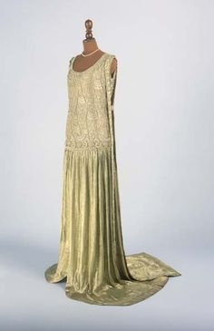 Court dress ensemble by Paul Poiret, a French fashion designer whose contributions to fashion have been compared to Picasso's contribution to art.
