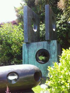Barbara Hepworth's Garden, St. Ives