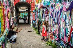 Graffiti street.