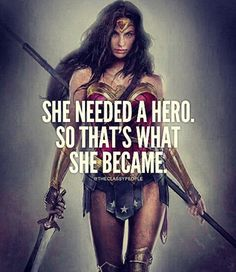 She needed a hero and 50 other great quotes for women. I love that the first of these girl power quotes features Wonder Woman. Fitting for a collection of inspirational quotes from women. Successful Life Quotes, Successful Women, Success Quotes, Wonder Woman Quotes, Plus Belle Citation, Motivational Quotes, Inspirational Quotes, Strong Women Quotes, Quotes About Women Empowerment