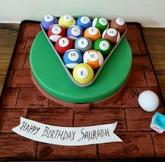 Pool themed Rich Chocolate Cake with Coffee Cake Pops !!!
