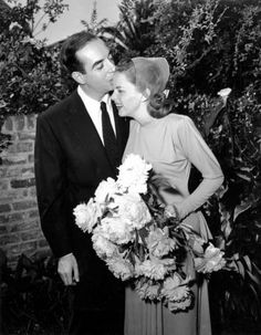 Judy Garland marries director Vincente Minnelli at the home of Judy's mother, Ethel, in Hollywood, June 15, 1945.