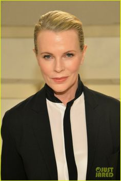 Kim Basinger at the Ralph Lauren fashion show during the final day of Mercedes-Benz Fashion Week Fall 2014