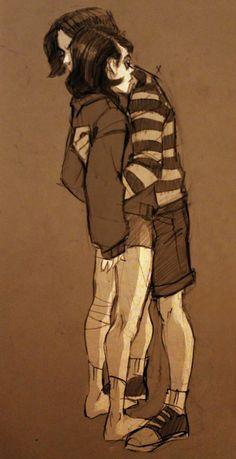 Gerard And Frank, Character Art, Character Design, Emo Art, Manga Anime, Arte Horror, Emo Bands, Fanart, My Chemical Romance