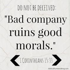 Biblical Homemaking: be careful whom you follow