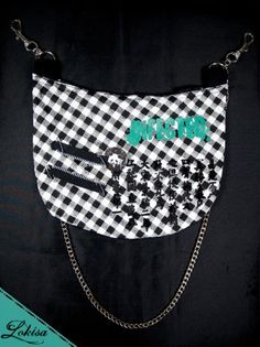 Infected by the Beast of Direness Hip/ Shoulder Purse (Unisex)