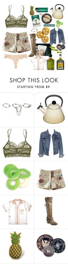 """""""{rent money}"""" by benevolent-bby ❤ liked on Polyvore featuring ASOS, Le Creuset, Cosabella, Levi's, Marni, Steven by Steve Madden, PINTRILL and Addiction"""