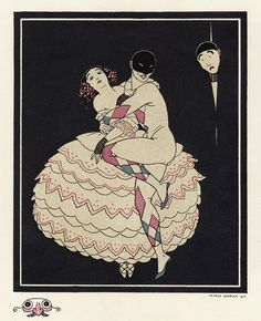 From an album dedicated to Tamara Karsavina,1914 by George Barbier