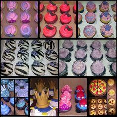 Custom Cakebaby Cupcakes