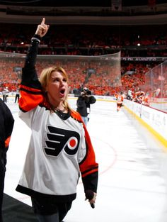 Welcome to Philadelphia, where even our anthem singer is more badass than your entire team.