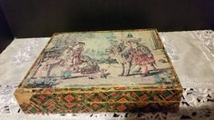 Victorian Children's litho blocks toy by ShellysSelectSalvage